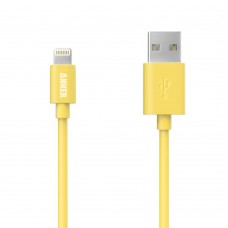 ANKER IPHONE 5 CHARGER 6FT Yellow