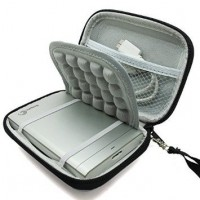 CO2CREA 2.5INCH Hard EVA Shockproof Carrying Travel Case for HDD (BLACK)
