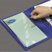 DURABLE DURACLIP A4 FOLDER BLUE - 30 SHEETS