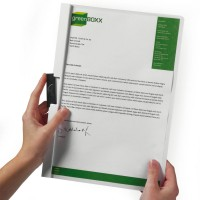 DURABLE DURACLIP A4 FOLDER DARK GREEN - 30 SHEETS