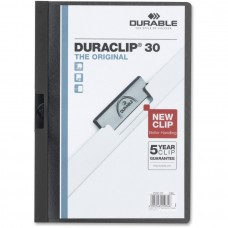DURABLE DURACLIP A4 FOLDER RED - 30 SHEETS