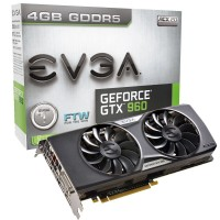 EVGA GEFORCE GTX 960 FTW 4GB