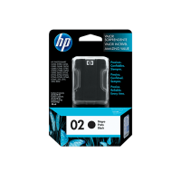 HP 02 Black Original Ink Cartridge (C8721WL)