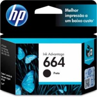 HP 664 INK CARTRIDGE BLACK (F6V29AL)