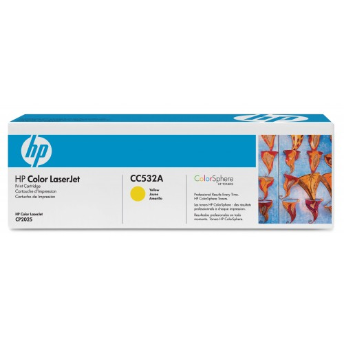 HP TONER CC532A YELLOW