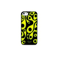 iLuv Aurora Glow-in-the-Dark Case for iPhone 4/4s - Black/Green