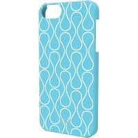 iLuv Chic Hardshell Case for iPhone 5/5s -iCA7H307 - Blue