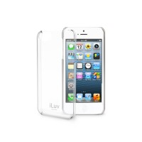 iLuv Gossamer Clear Hardshell Case for Apple iPhone 4S - 1 Pack - Case - Retail Packaging - Clear