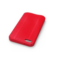 iLuv Topog L ICA7T324RED Mesh Softshell Case for iPhone 5/5S - Red