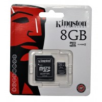KINGSTON 8GB Micro SDHC Class 4 Flash Card