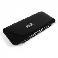 KLIP Xtreme Slim 7 USB 2.0 Hub with 7 ports (Black)
