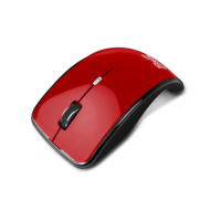 KLIPX KURVE Wireless KMO-375 Mouse - RED