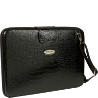 MOBILE EDGE FAUX CROC BLK