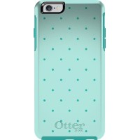OtterBox SYMMETRY Series iPhone 6/6s Case - Retail Packaging - AQUA DOT II (TEAL)