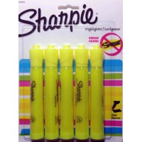 SHARPIE HIGHLIGHTER YELLOW 4PK