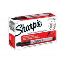 SHARPIE ULTRA FINE POINT BLACK 12X
