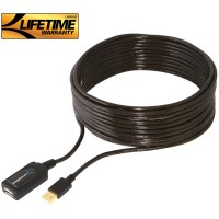 StarTech USB2AAEXT10M USB 2.0 Active Extension Cable - M/F 10M (33 feet)