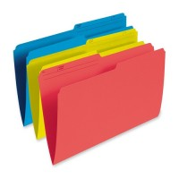 UNIVERSAL FILE FOLDER 1f3CUT LEGAL BLUE