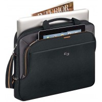USL BRIEFCASE SLIM.LAPTOP BK