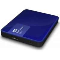 Western Digital 1TB My Passport Ultra USB 3.0 Secure Portable Hard Drive (Blue)