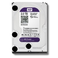 Western Digital 2 TB Sata III Intellipower 64 Mb Cache 6GB/s 64 Mb Cache 3.5 Inch Internal Hard Drive - Purple