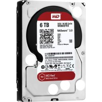Western Digital 6TB 5400 RPM Class SATA 6GB/s 64MB Cache 3.5 Inch NAS Hard Disk Drive -Red