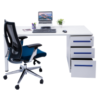 Silva Blue Desk By Mesa