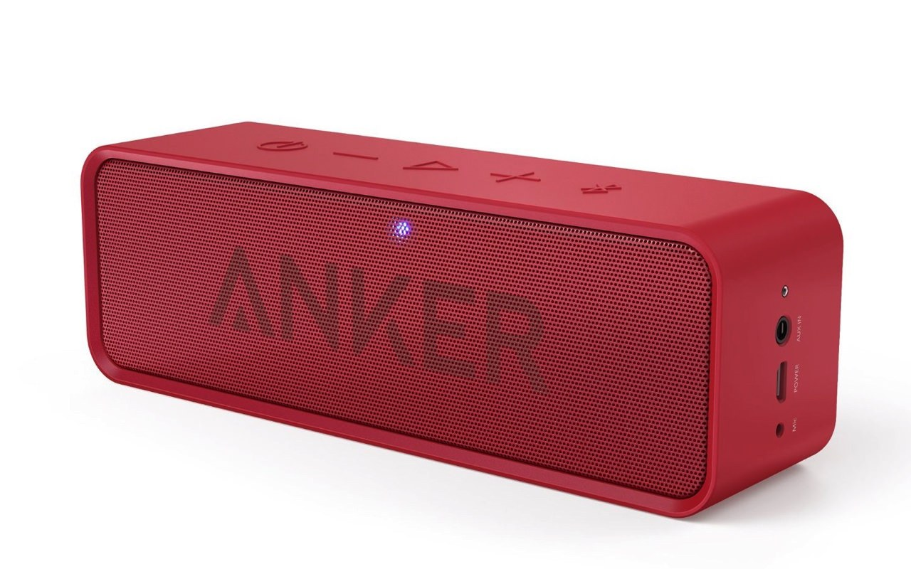 Anker Bluetooth Soundcore Red