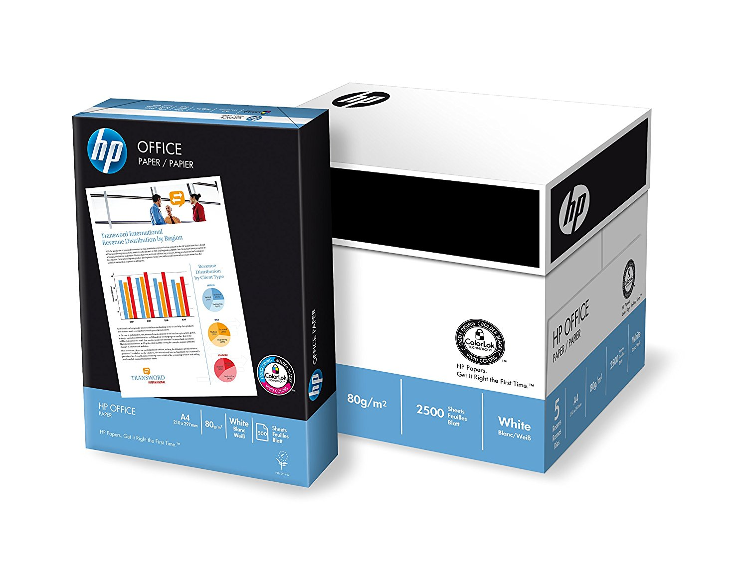 HP LETTER PAPER 80g 5X