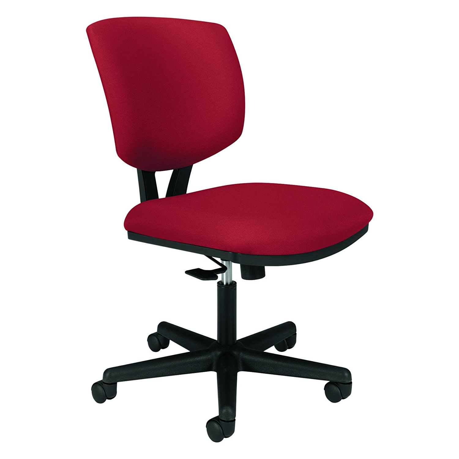 HON 5701GA42T   Volt Seating Fabric Tilt Task Chair, Crimson/Black ...