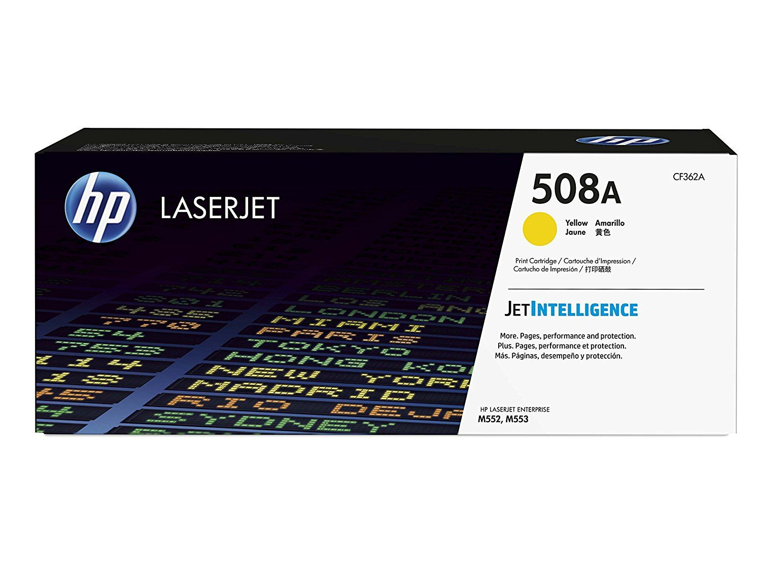 HP 508A (CF362A) Yellow Original LaserJet Toner Cartridge
