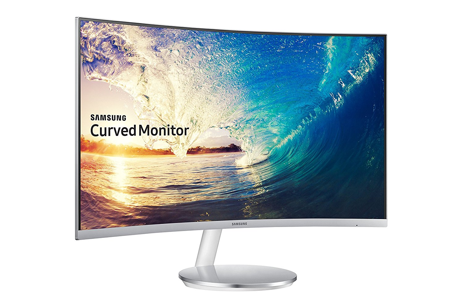 SAMSUNG 27INCH CURVED WH