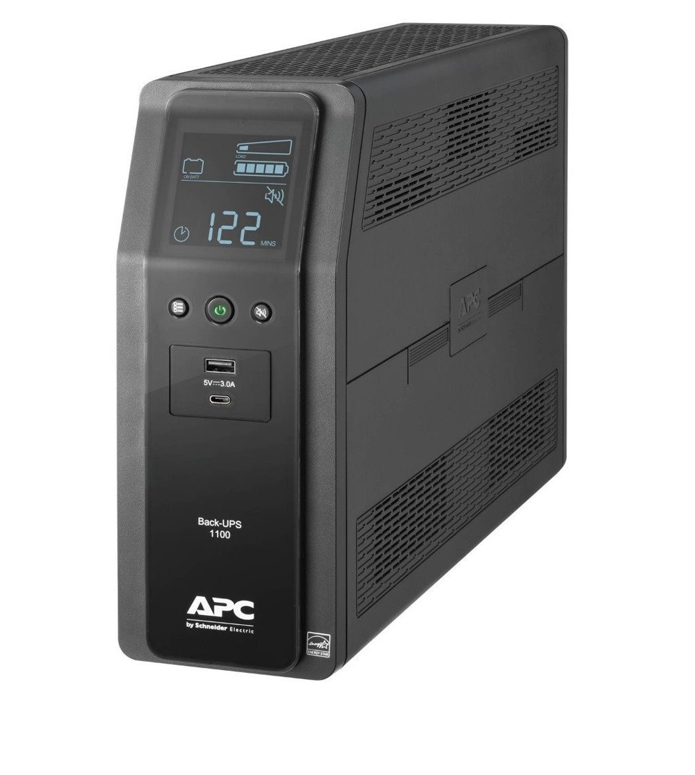 APC Back UPS PRO BR 1100VA,10 Outlets, 2 USB Charging Ports, AVR, LCD interface , LAM