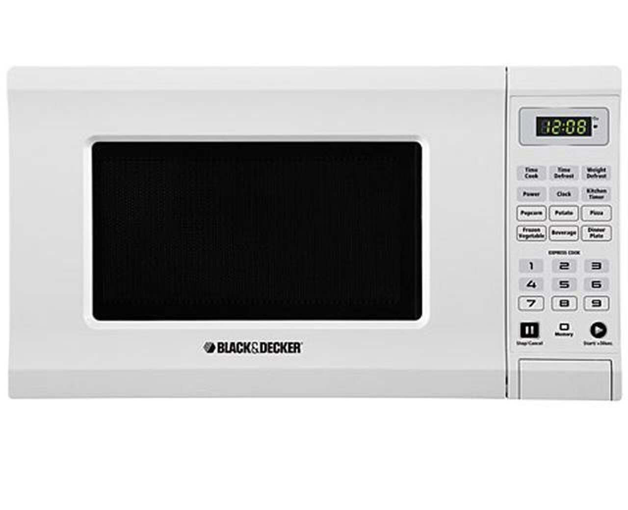 Microwave Black & Decker 0.7 Cubic Feet White