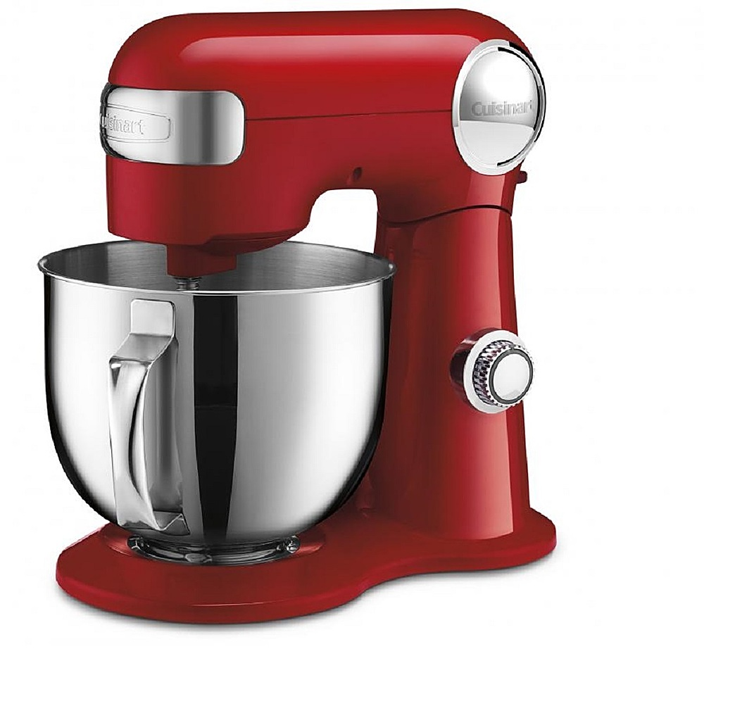 Cuisinart Precision Master 5.5 Quart Stand Mixer - Red
