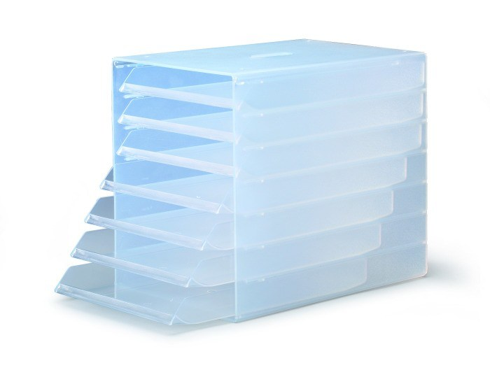 DURABLE IDEALBOX 7 Drawers - Transparent