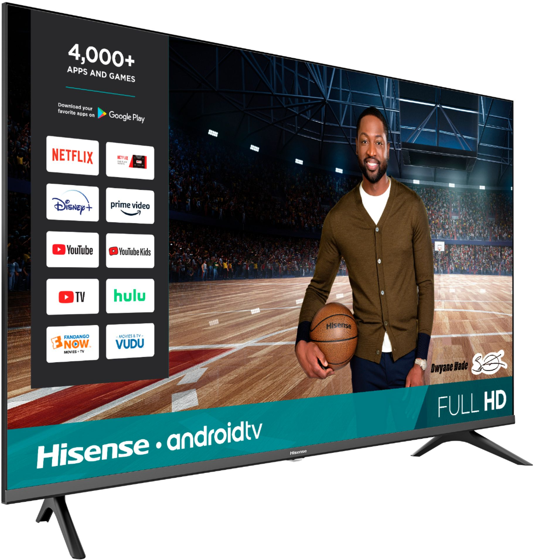 Hisense - 43 Inch Class H55 Series LED Full HD Smart Android TV