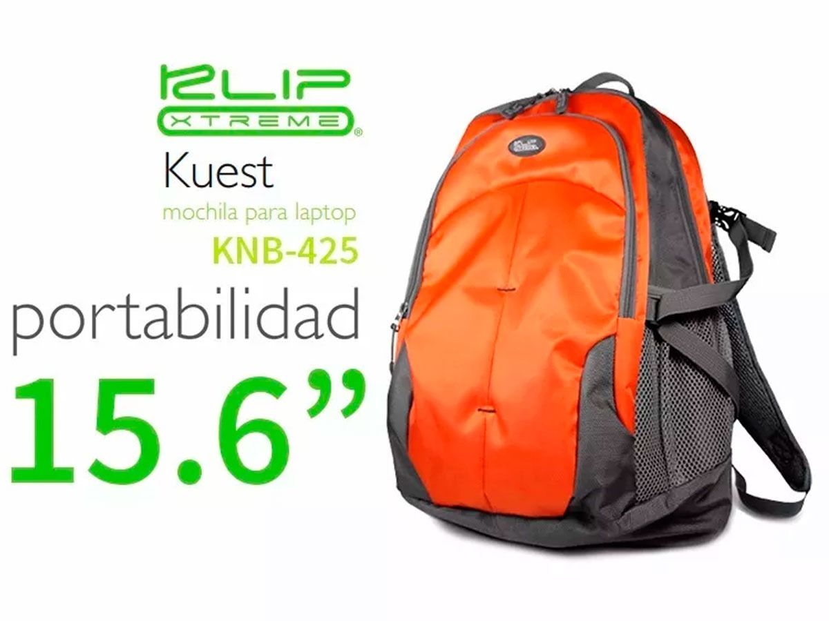 KLIPX NOTEBOOK BACKPACK ORANGE