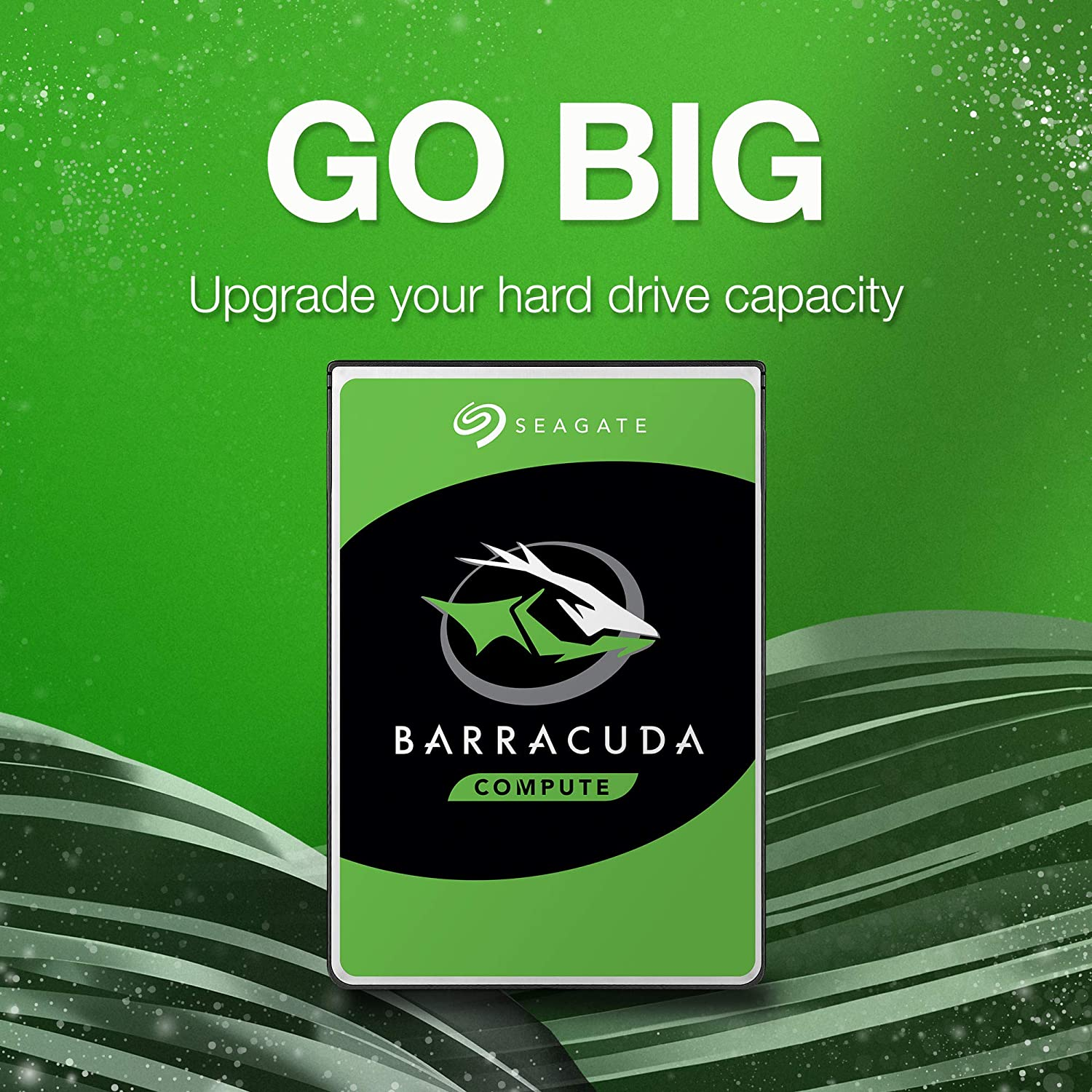 Seagate BarraCuda 4TB Internal Hard Drive HDD – 3.5 Inch Sata 6 Gb/s 5400 RPM 256MB Cache for Computer Desktop PC Laptop (ST4000DM004)